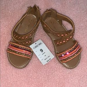 NWT Cherokee Sandals